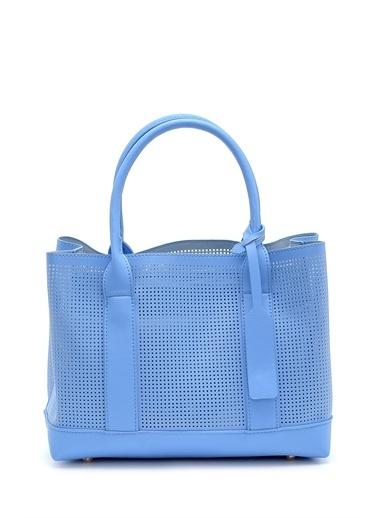 Derimod Kadın Çanta (Lds201008) Casual Mavi